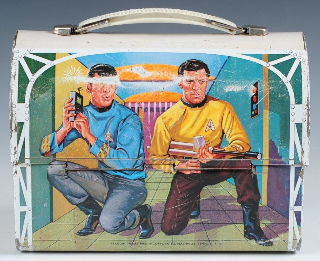 1968 STAR TREK DOME LUNCH BOX WITH THERMOS - 4