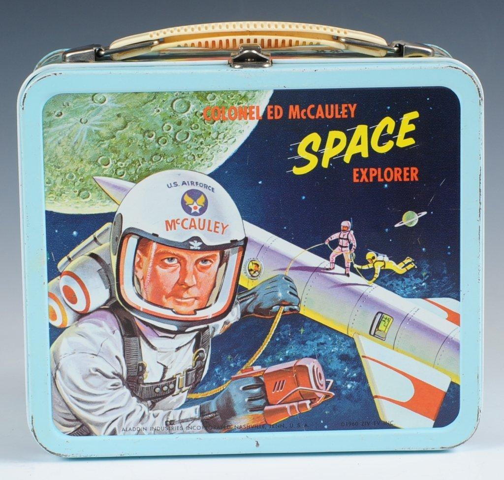 1960 COL. ED MCCAULEY SPACE EXPLORER LUNCH BOX