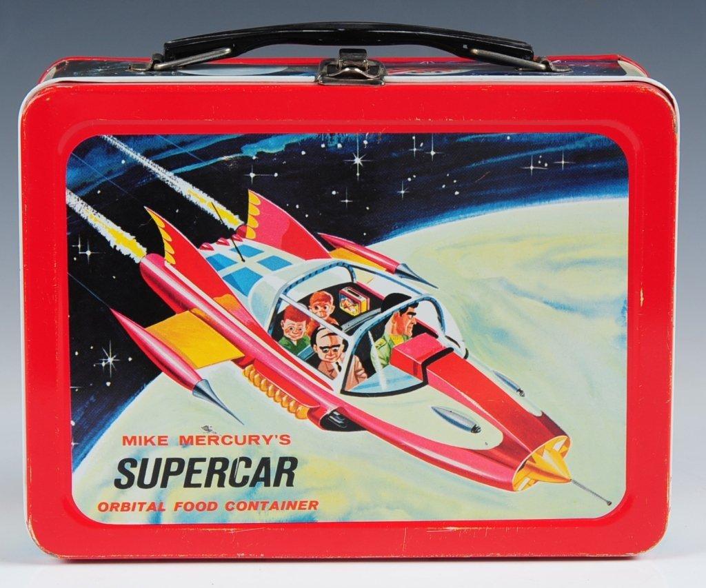 1962 MIKE MERCURY'S SUPERCAR LUNCH BOX