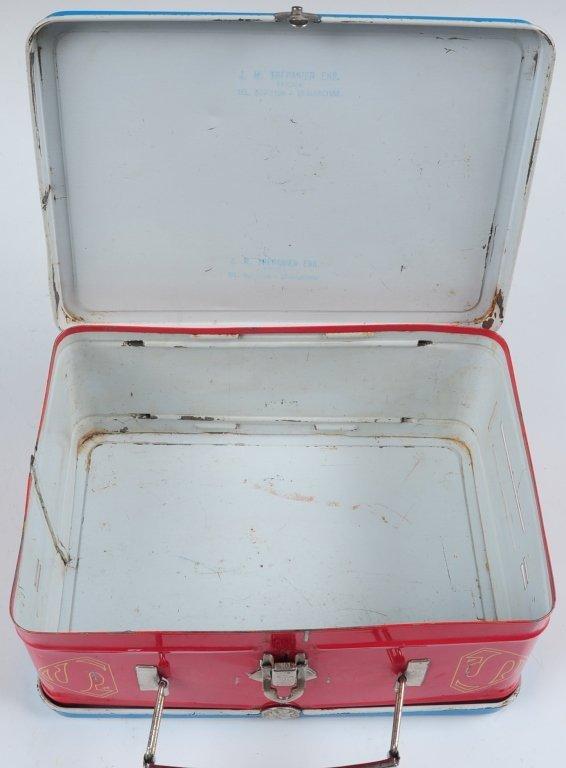 1954 SUPERMAN LUNCH BOX - 10