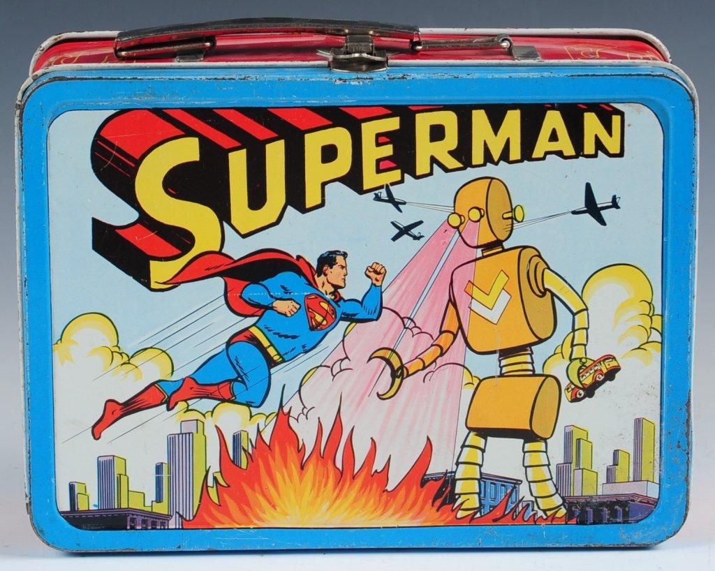 1954 SUPERMAN LUNCH BOX