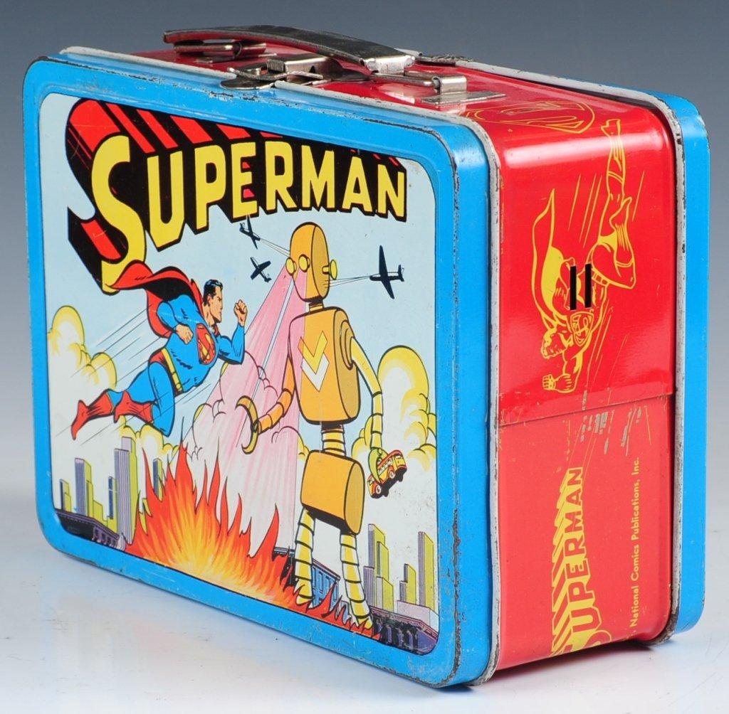 1954 SUPERMAN LUNCH BOX - 2