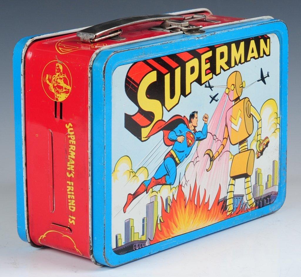 1954 SUPERMAN LUNCH BOX - 6