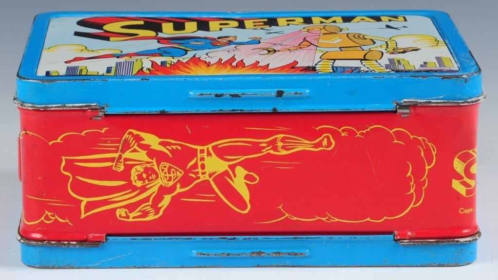 1954 SUPERMAN LUNCH BOX - 7