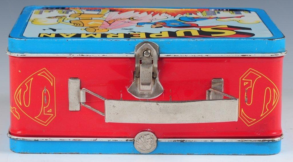 1954 SUPERMAN LUNCH BOX - 8