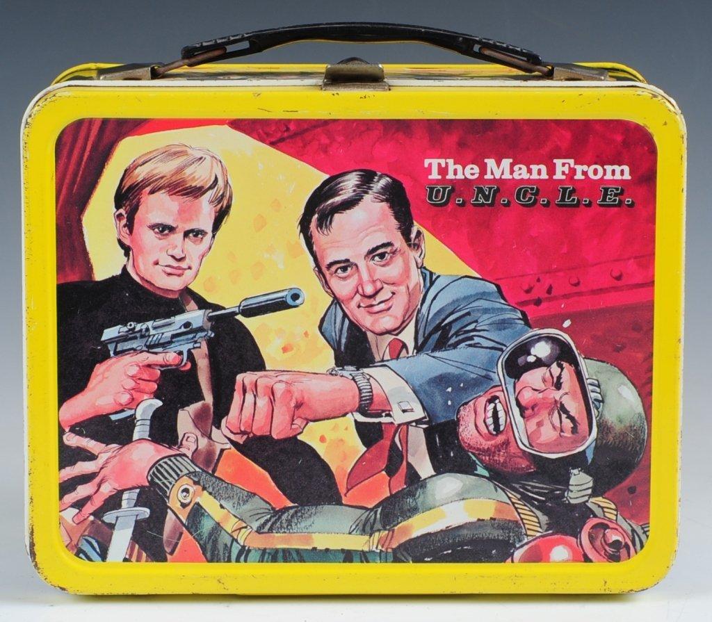 1966 MAN FROM U.N.C.L.E. LUNCH BOX