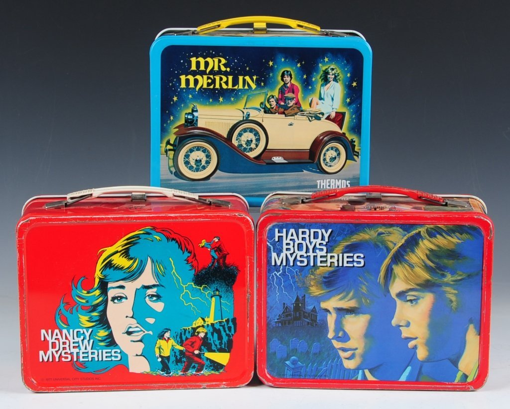 THREE LATE 70s/EARLY 80s TV SHOW THEMED LUNCH BOXES - 2