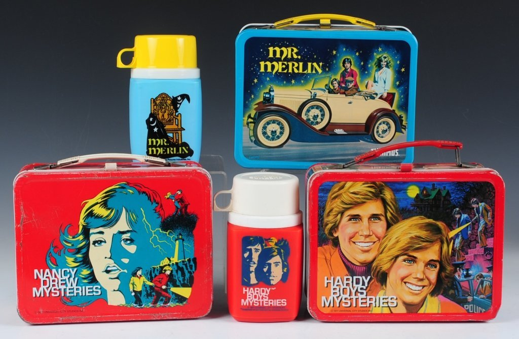 THREE LATE 70s/EARLY 80s TV SHOW THEMED LUNCH BOXES - 3