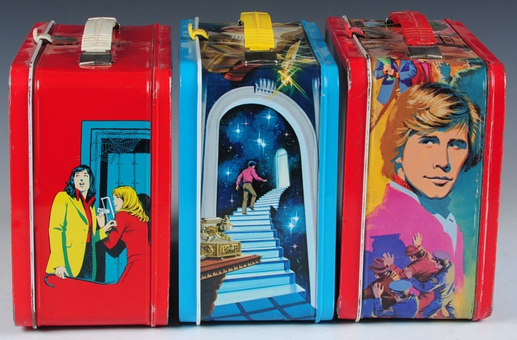 THREE LATE 70s/EARLY 80s TV SHOW THEMED LUNCH BOXES - 4