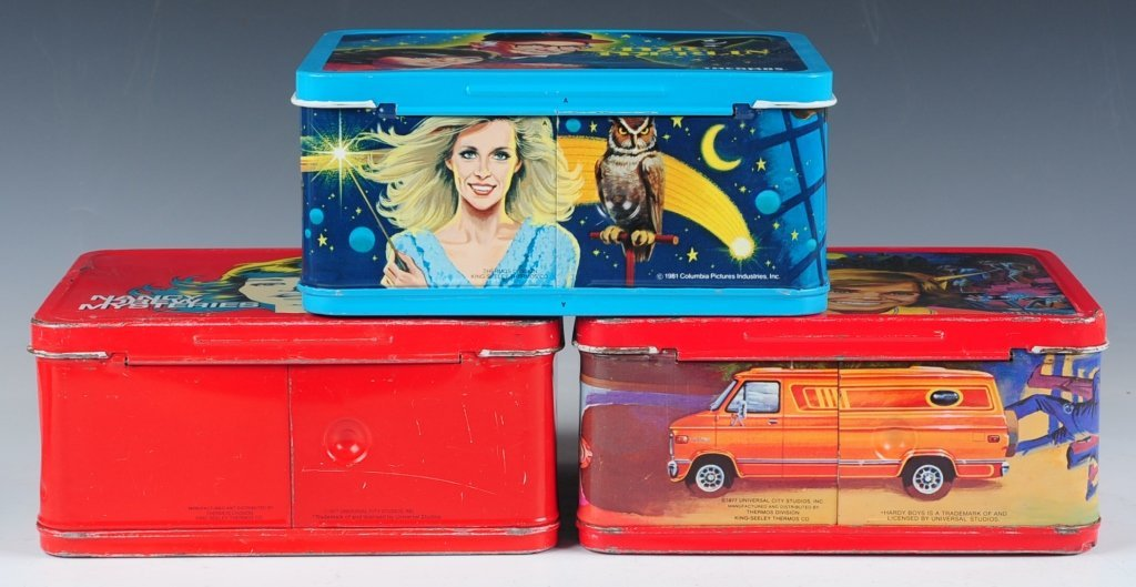 THREE LATE 70s/EARLY 80s TV SHOW THEMED LUNCH BOXES - 6