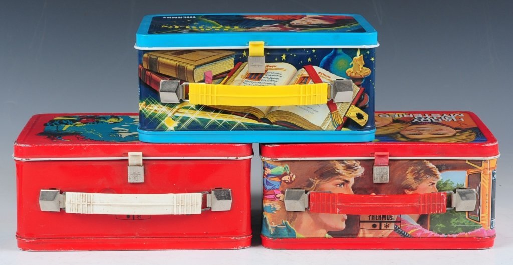 THREE LATE 70s/EARLY 80s TV SHOW THEMED LUNCH BOXES - 7