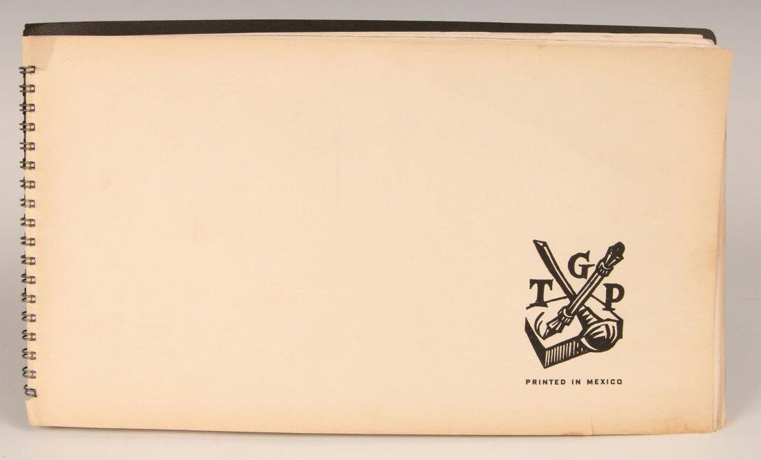 TGP MEXICO PORTFOLIO OF GRAPHIC ARTS, 1949 WOODCUT