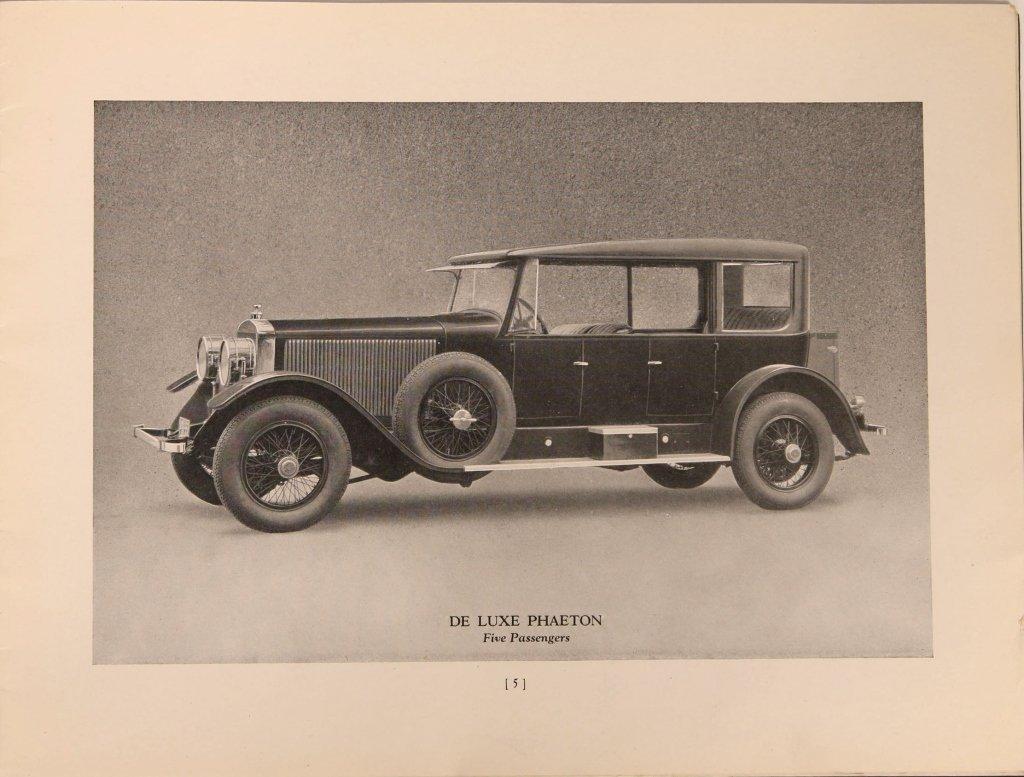 1920s DOBLE STEAM CAR SALES BOOKLET - 5