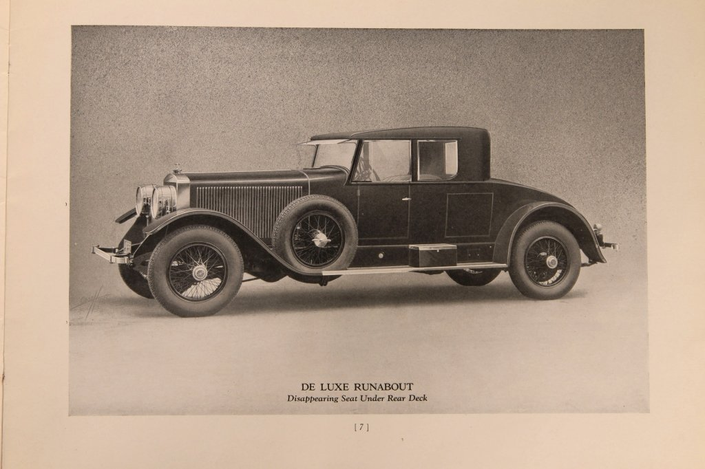 1920s DOBLE STEAM CAR SALES BOOKLET - 6
