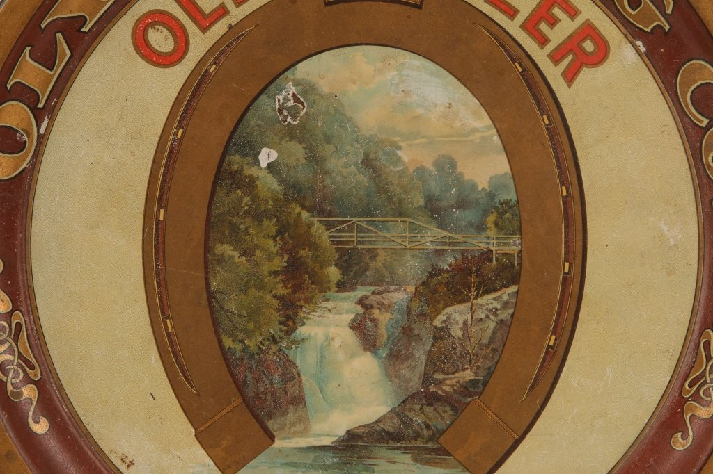 PRE-PROHIBITION OLYMPIA BEER TIN LITHO TRAY - 3