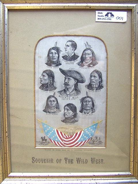 1: Rare Buffalo Bill Stevengraph, STG#?