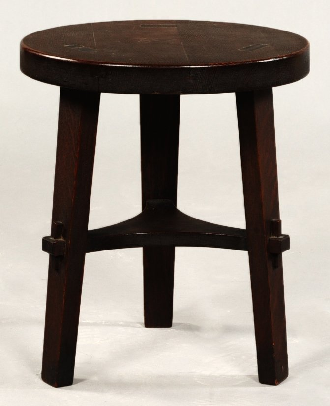 STICKLEY BROTHERS TABOURET TABLE #314 1/2