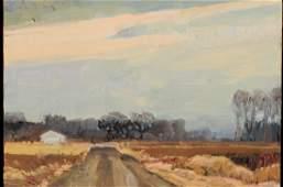 LISA GROSSMAN (KANSAS, BORN 1967) OIL ON CANVAS