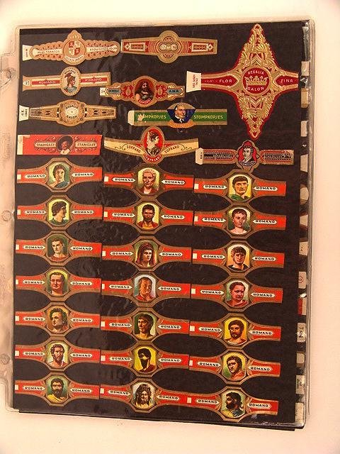 7: COLLECTION OF APPROX. 396 ANTIQUE CIGAR BAND LABELS