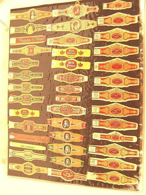 11: COLLECTION OF APPROX. 360 ANTIQUE CIGAR BAND LABELS