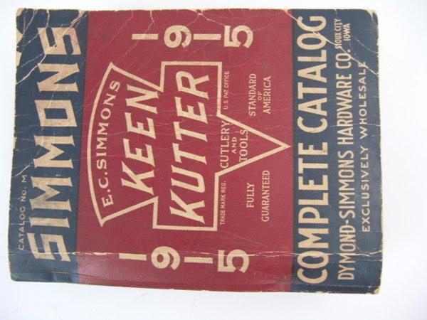 560: KEEN KUTTER 1915 TRADE CATALOG: TOYS, GUNS, ETC.