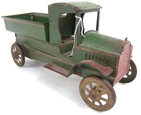 2506: 1921 PRESSED STEEL CARGO TRANSFER TRUCK
