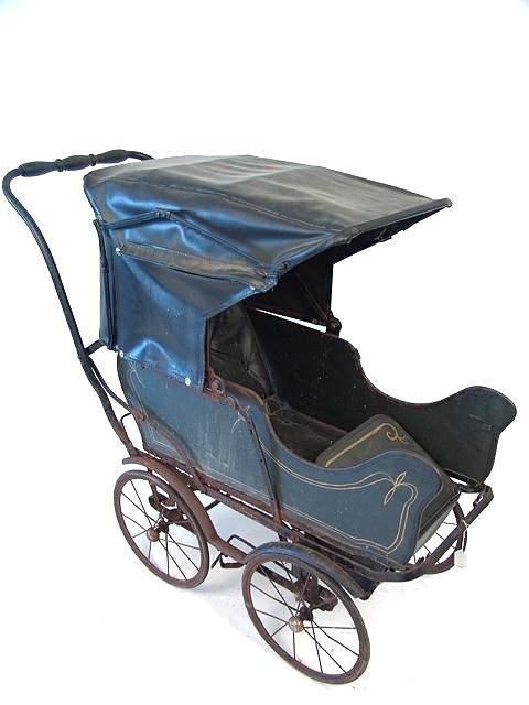 2508: ANTIQUE BABY BUGGY