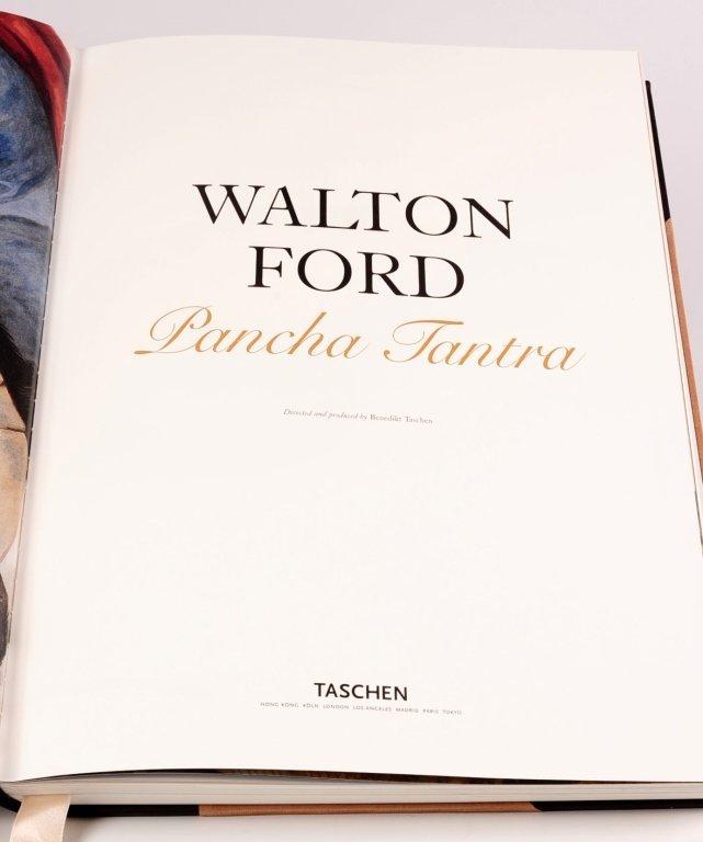 PANCHA TANTRA, WALTON FORD, SIGNED LTD. TASCHEN 2007 - 5