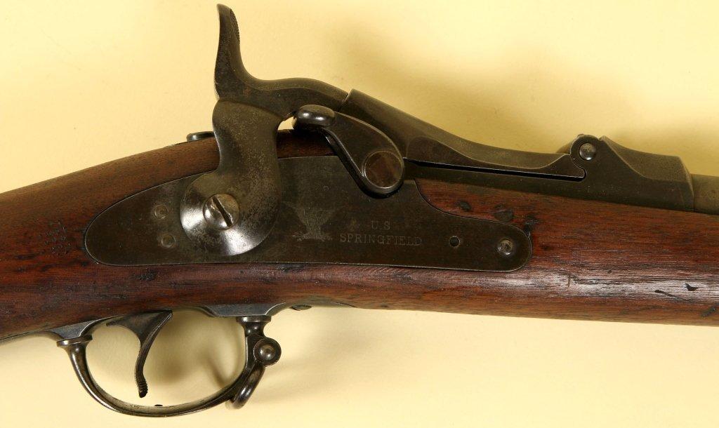 1878 MODEL SPRINGFIELD TRAPDOOR 45-70 CALIBER MUSKET