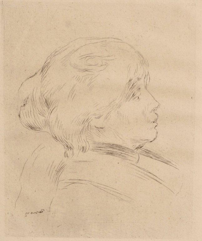 PIERRE-AUGUSTE RENOIR (1841-1919) ETCHING