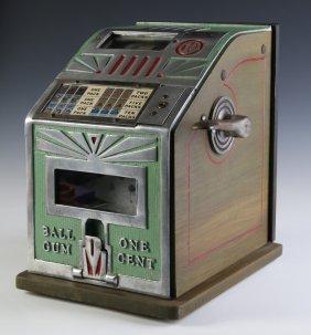 C. 1935 Superior Gum Ball Coin-op Trade Stimulator
