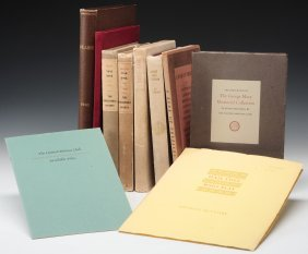 Eleven Volumes Of Various Subjects