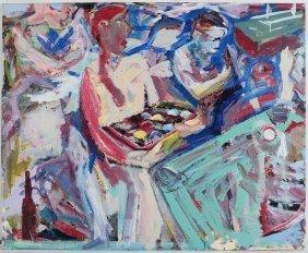 Tony Naponic (born 1954) Acrylic On Canvas Dated 1985