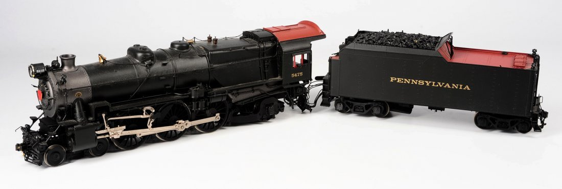 KOHS & CO. PENNSYL K-4 PACIFIC LOCOMOTIVE, O GAUGE