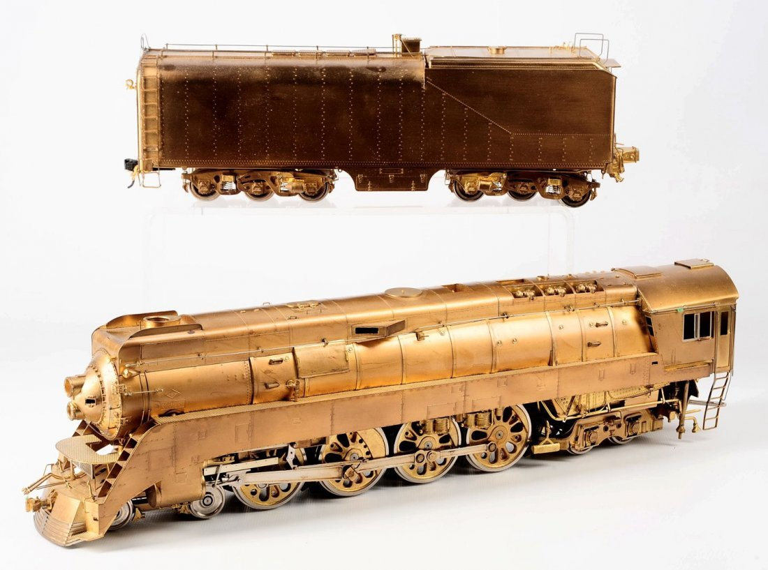 BRASS O GAUGE SOUTHERN PACIFIC BY OVERLAND MODELS