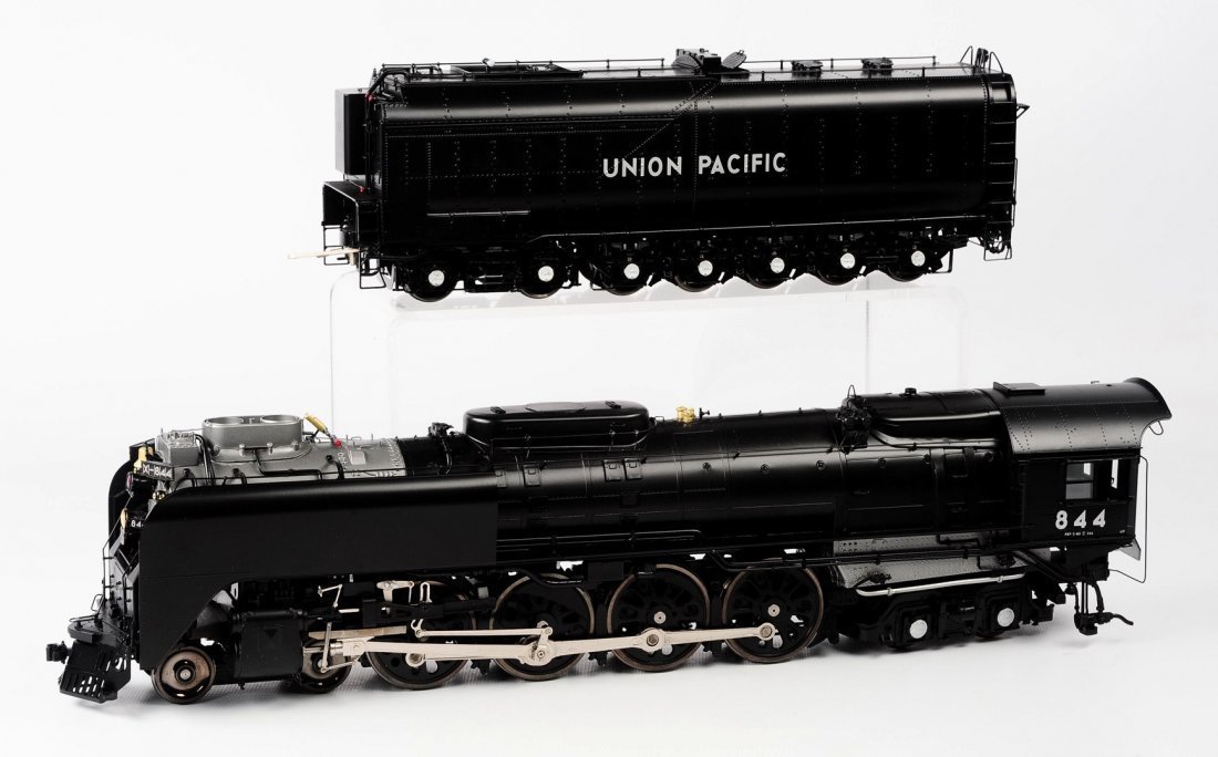 O GAUGE UNION PACIFIC FEF-3 4-8-4 BY OVERLAND MODELS