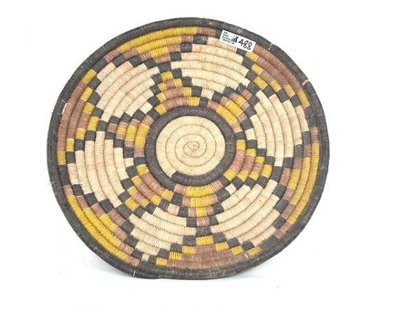 488: HOPI AMERICAN INDIAN COILED TRAY