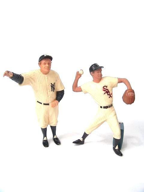 2014: TWO STARTING LINE-UP TYPE BASEBALL FIGURES