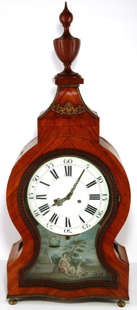 C. 1800 NEUCHATEL STYLE CLOCK SIGNED GERRIT, AMSTERDAM