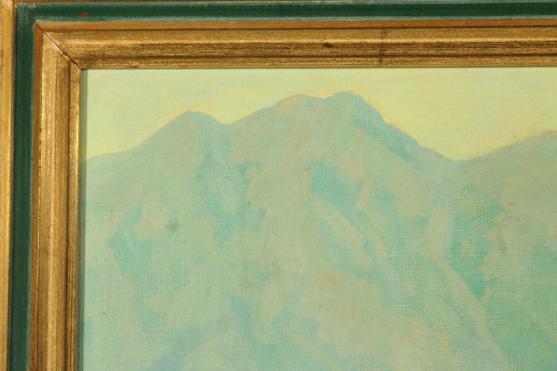 OLIVER GLEN BARRETT (1903-1970) CALIFORNIA OIL ON - 3