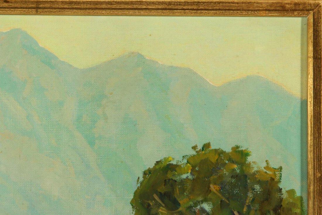 OLIVER GLEN BARRETT (1903-1970) CALIFORNIA OIL ON - 4