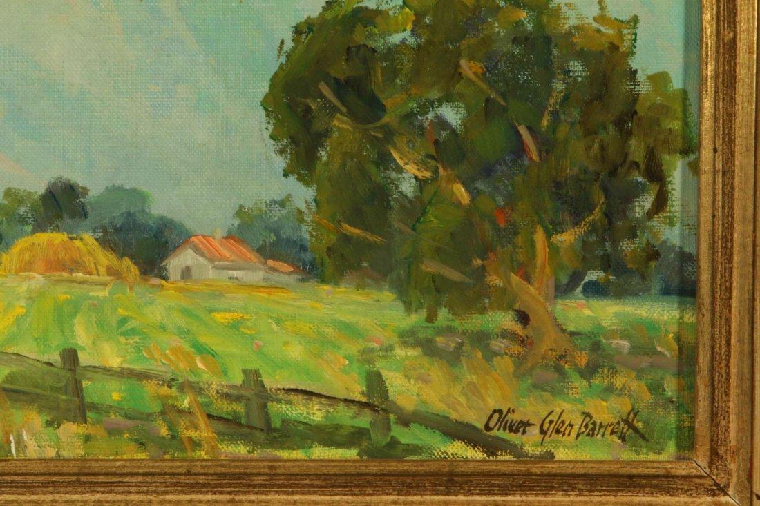 OLIVER GLEN BARRETT (1903-1970) CALIFORNIA OIL ON - 5