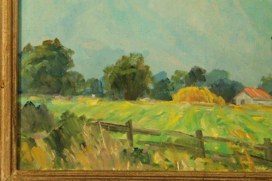 OLIVER GLEN BARRETT (1903-1970) CALIFORNIA OIL ON - 6