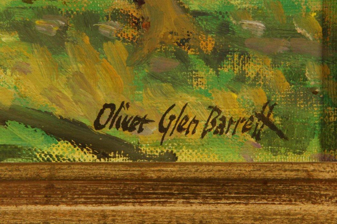 OLIVER GLEN BARRETT (1903-1970) CALIFORNIA OIL ON - 7