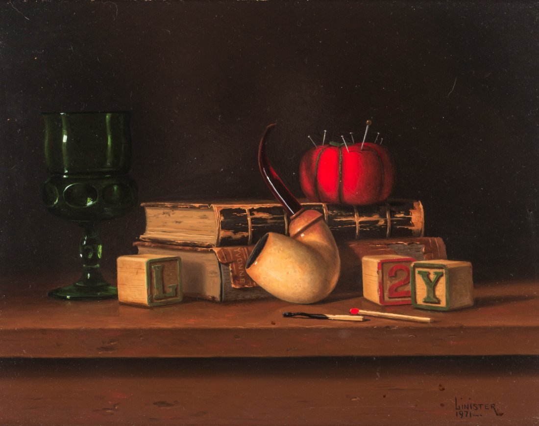 G LINISTER SMITH (BORN 1938) OIL ON MASONITE
