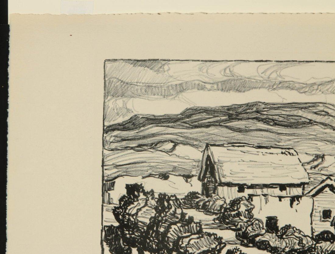 BIRGER SANDZEN (1871-1954) SIGNED LITHOGRAPH - 3