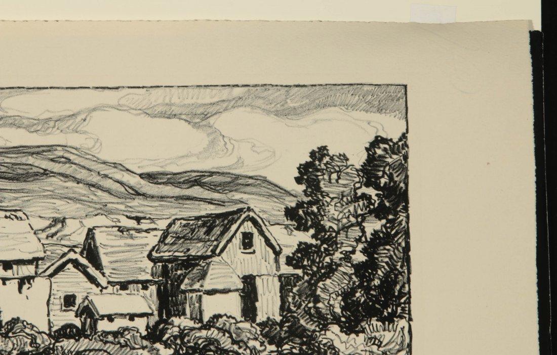 BIRGER SANDZEN (1871-1954) SIGNED LITHOGRAPH - 4