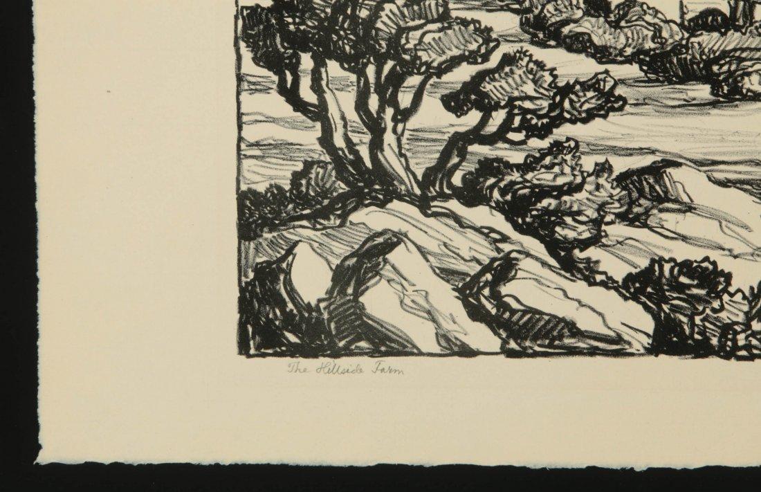 BIRGER SANDZEN (1871-1954) SIGNED LITHOGRAPH - 6