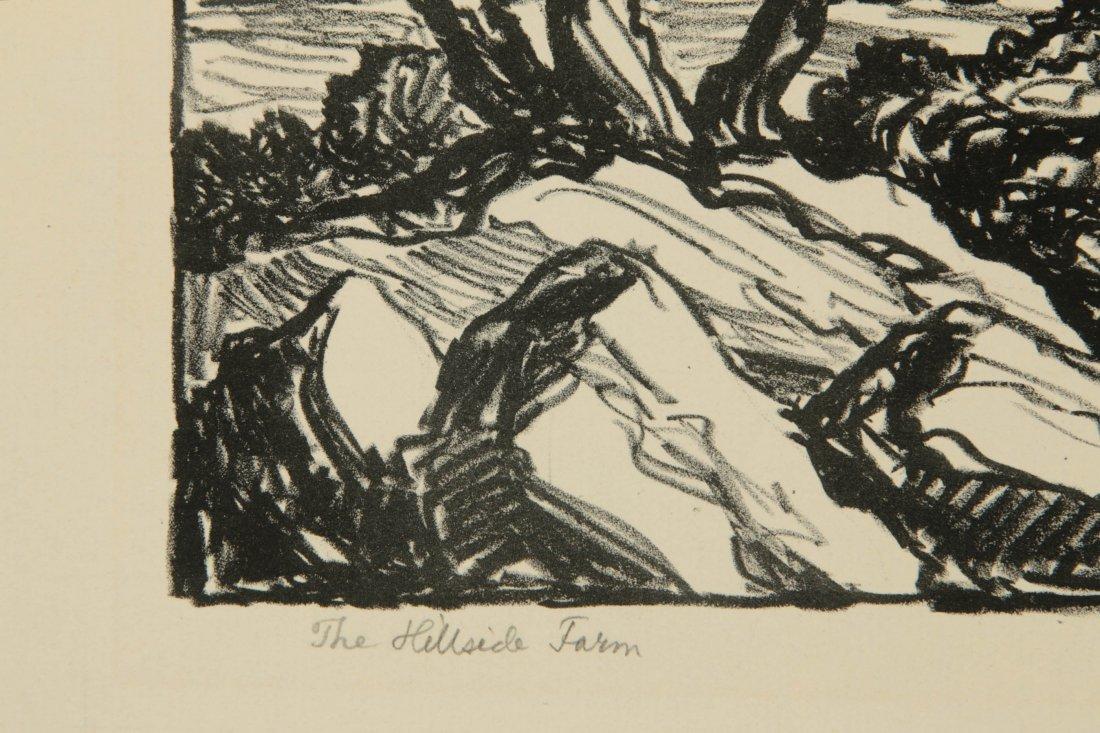 BIRGER SANDZEN (1871-1954) SIGNED LITHOGRAPH - 7