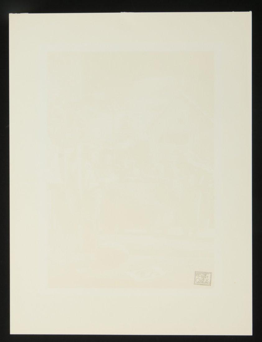 STEVAN DOHANOS (1907-1994) SIGNED WOOD ENGRAVING - 8
